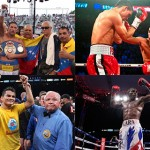Boxing feast with with four WBA titles