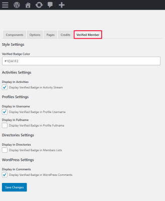 Verified Member For BuddyPress Plugin Review