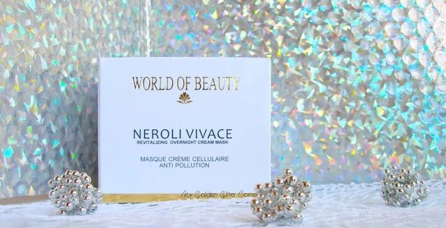 Neroli Vivace Revitalizing Overnight Cream Mask