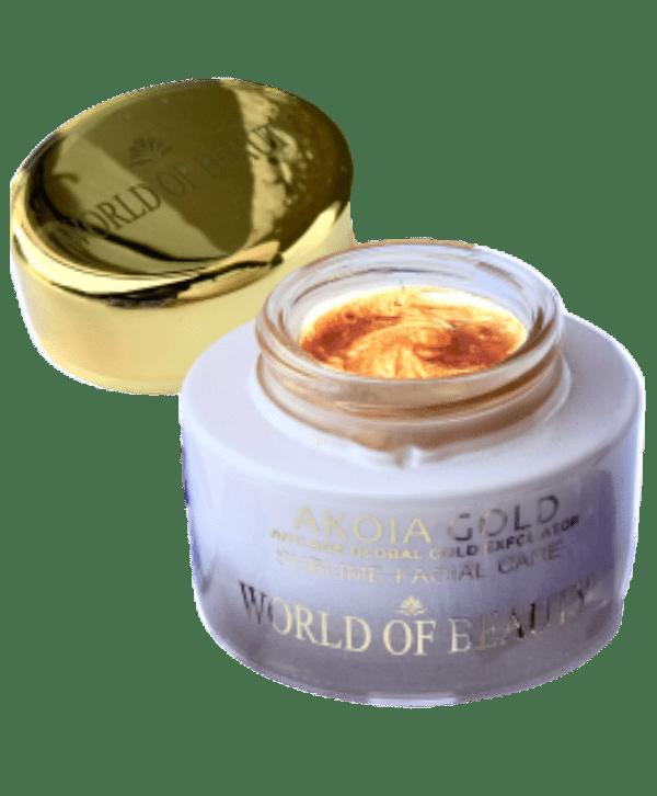 akoia gold enzyme peel scrub