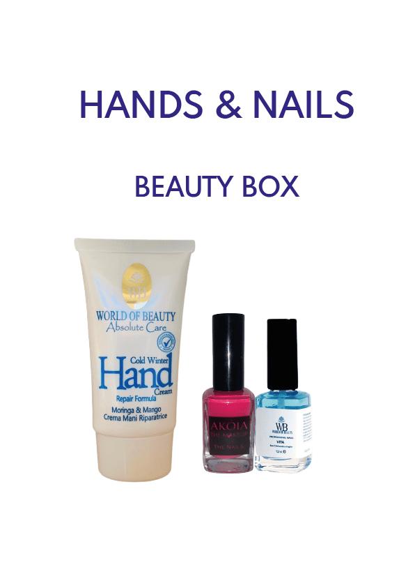 hands beauty box
