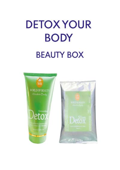 detox body skincare routine