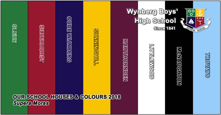 WBHS New House Names & Colours for 2018