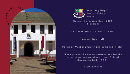 Wynberg Boys' Junior School 2021 SGB Elections