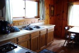 Cabin One: Kitchen