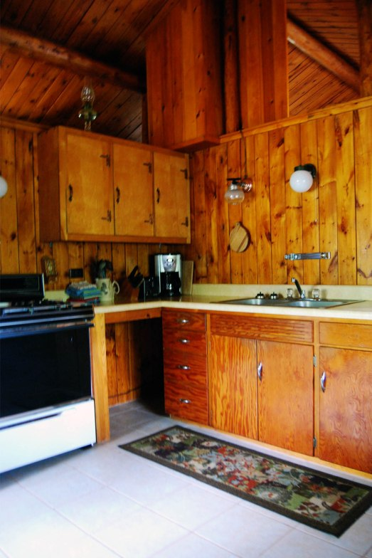 Cabin Five: Kitchen