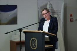 Dorota Hetman zabrała głos w imieniu rodziny Ireny Golec