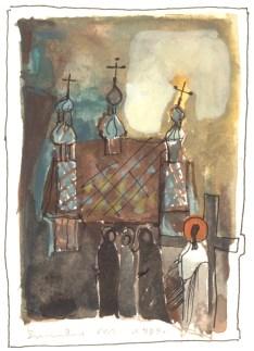 Stacja VIII: Jezus pociesza płaczące niewiasty