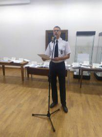 Wystąpienie dr. Grzegorza Szyszki - Dyrektora Oddziału Wojewódzkiego Związku Ochotniczych Straży Pożarnych RP w Lublinie
