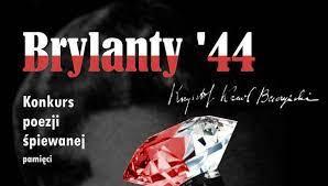 "Plakat konkursu ""Brylanty'44"""