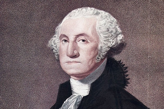 circa 1790:  George Washington, the 1st President of the United States of America.