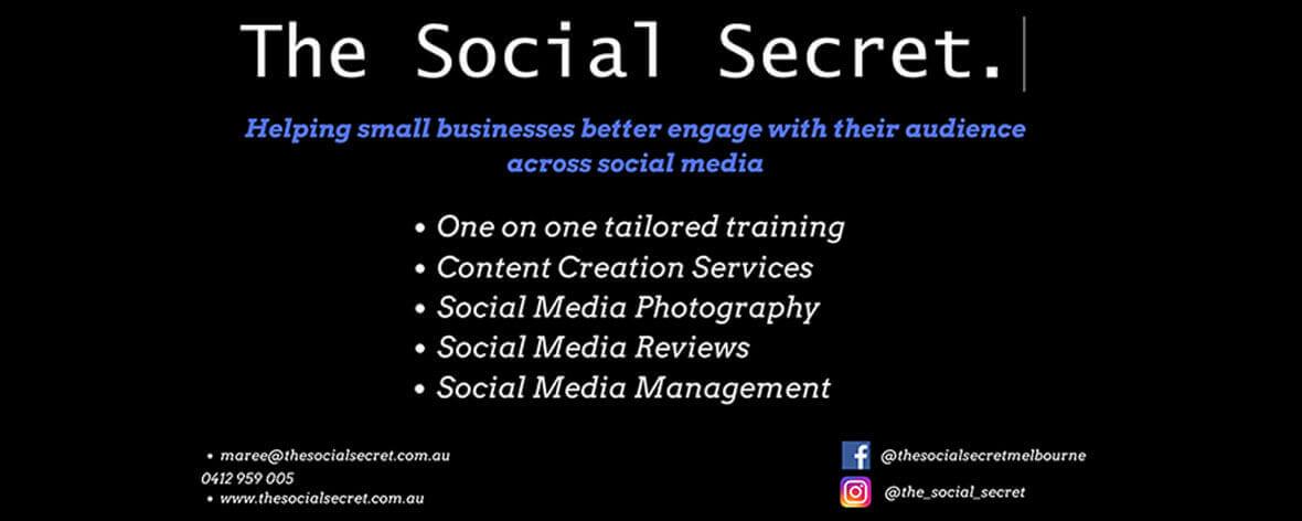 Social Secret WBS Promo Banner