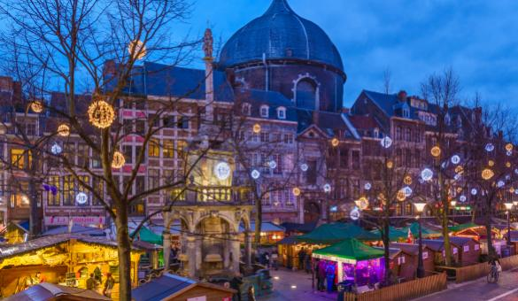 take a stroll through liege s christmas market the largest and oldest in belgium