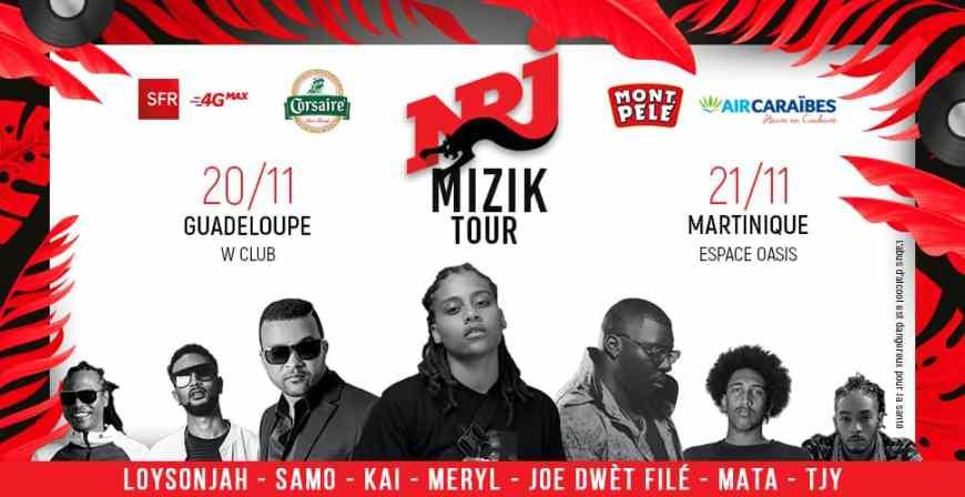 NRJ Mizik Tour 2019