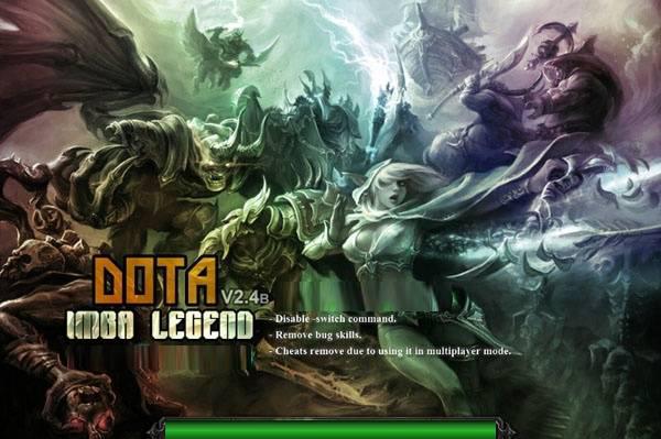 Dota Imba Legends 24b Dota Allstars Warcraft 3