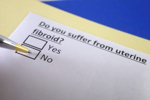 Do you suffer from uterine fibroid? Yes or no