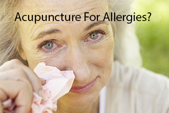 Acupuncture Helps With Allergies