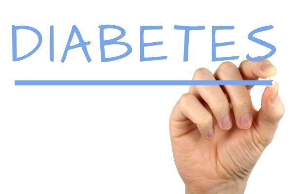 Hand writing diabetes