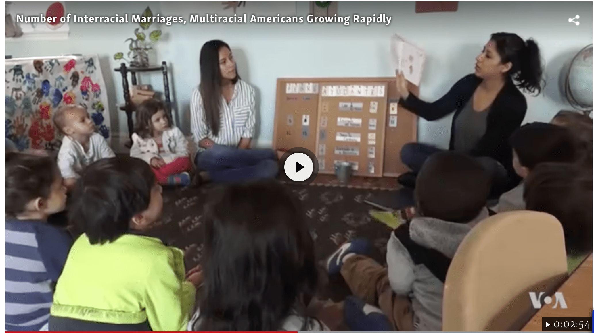 WCC Featured on VOA for Supporting Mixed Families