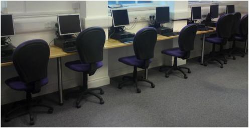 Maida Vale Library computer facilities (temporary)
