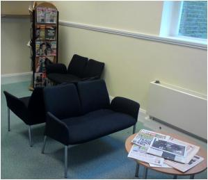 Maida Vale Library reading room (temporary)