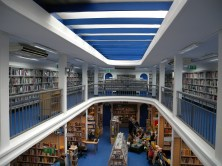 Charing Cross Library after redecoration, April 2014