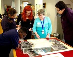 Takeover Day at Westminster City Archives, November 2015: 'History Detectives'