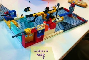 Pimlico Library Lego Club creations, September 2016