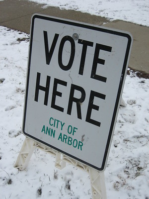 The Risk of Going to Washtenaw County Voters