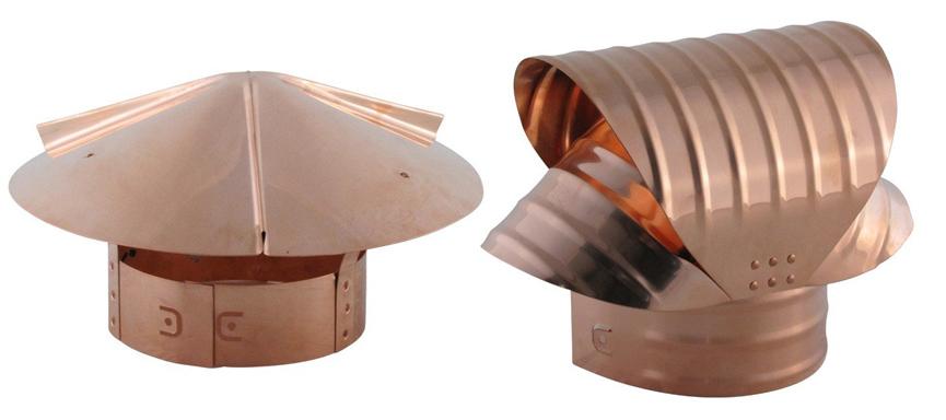 Copper Chimney Caps