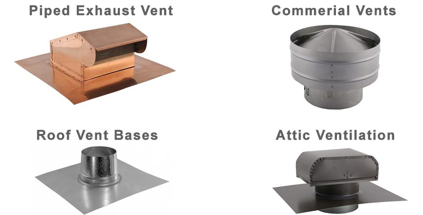 Roof Vent Types