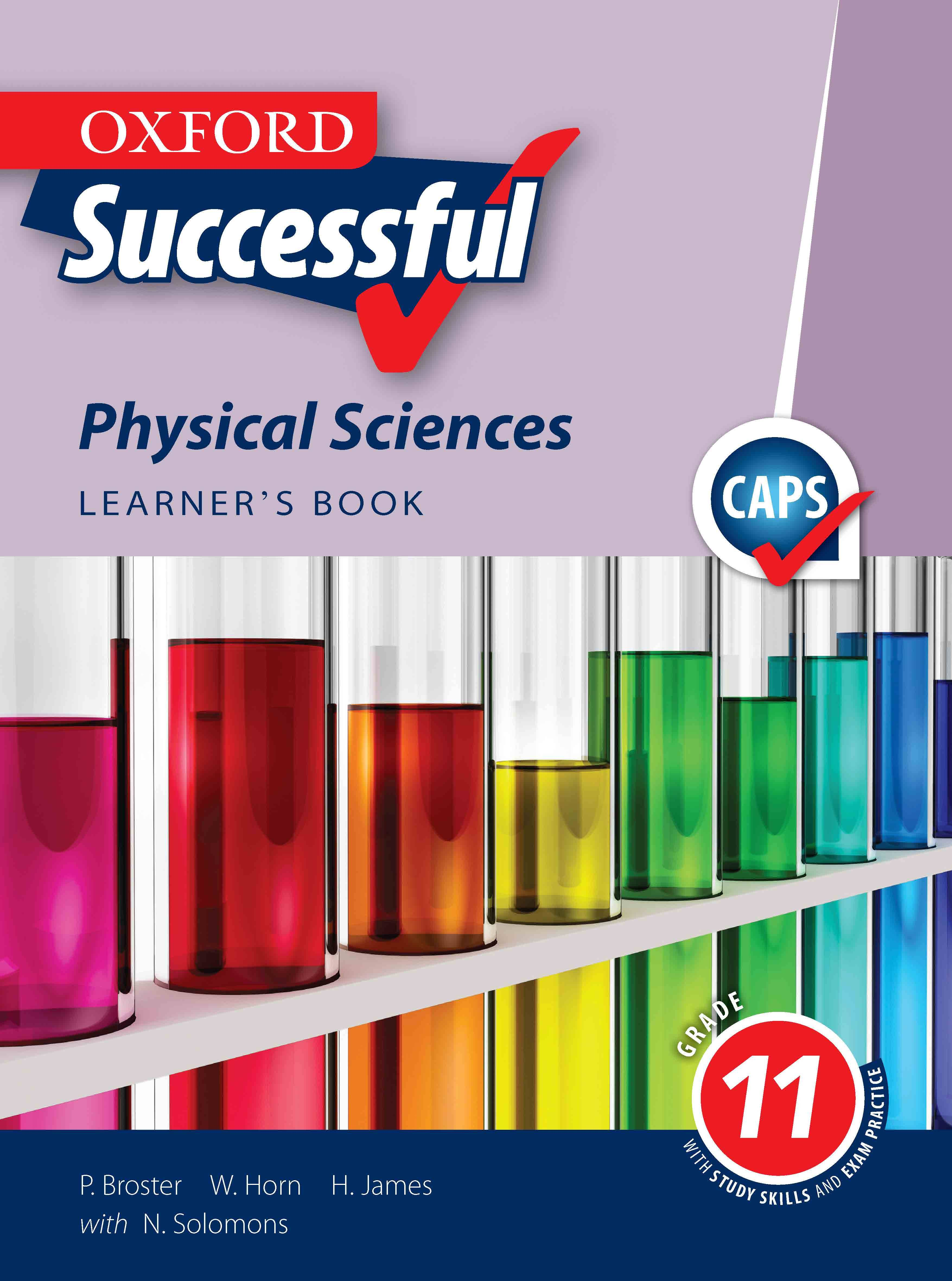 Oxford Successful Physical Sciences Grade 11 Learner S