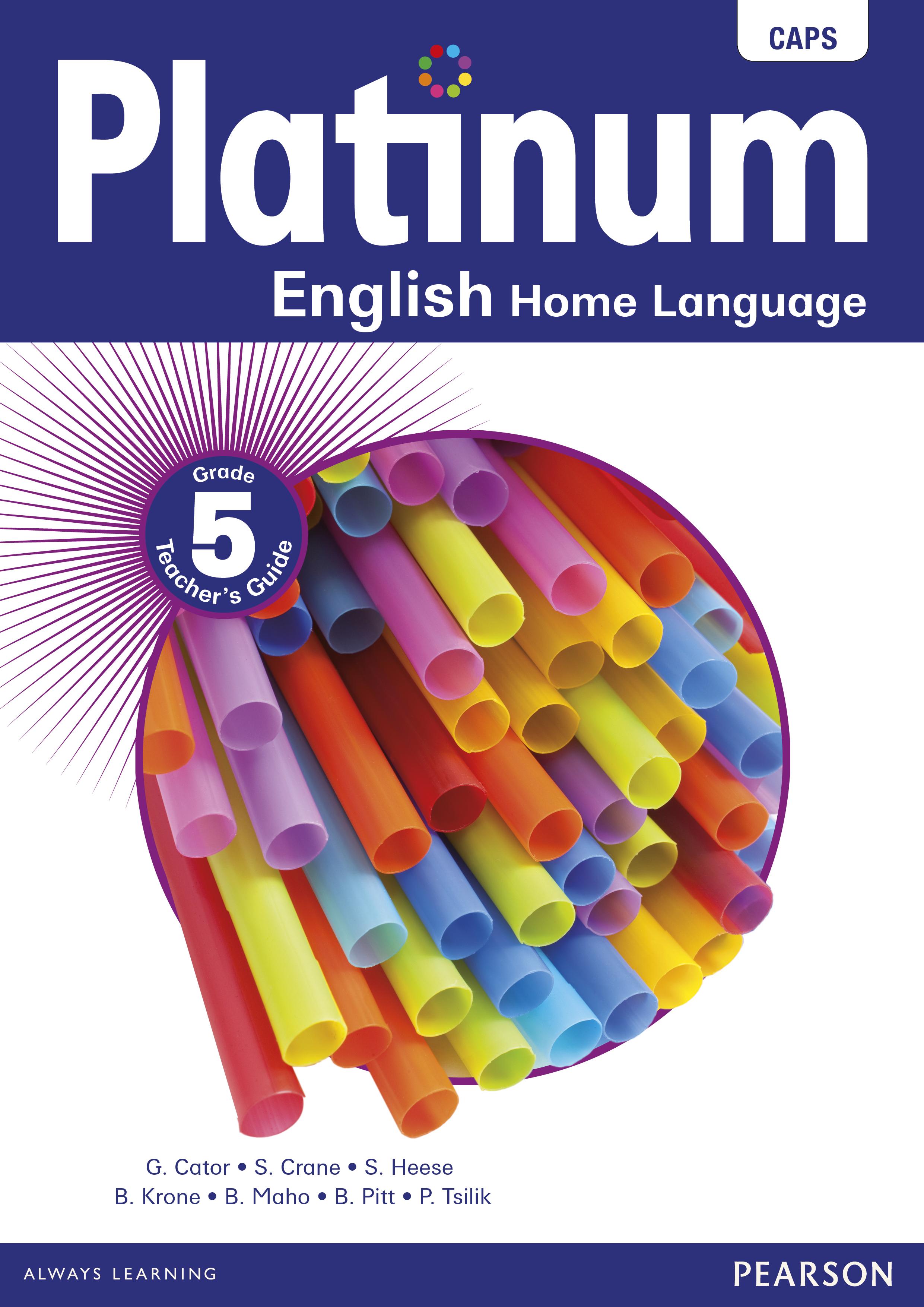 Platinum English Home Language Grade 5 Teacher S Guide E Perpetual Licence
