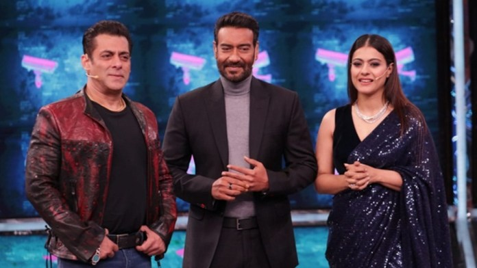 Ajay Devgn, Salman Khan & Kajol