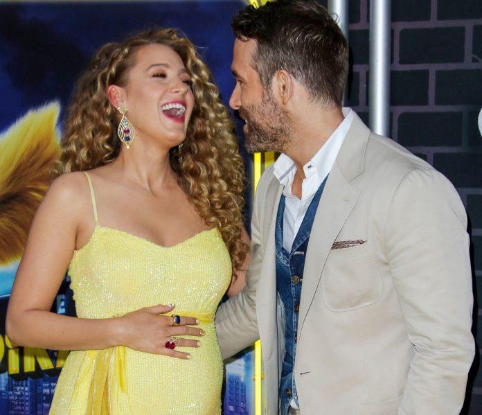 Blake Lively Husband Ryan Reynolds (1)