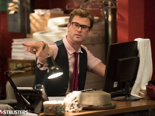 Chris Hemsworth as Kevin in Ghostbusters