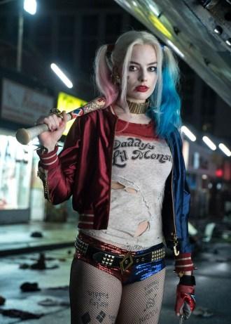 Margot Robbie as Harley Quinn (WB).