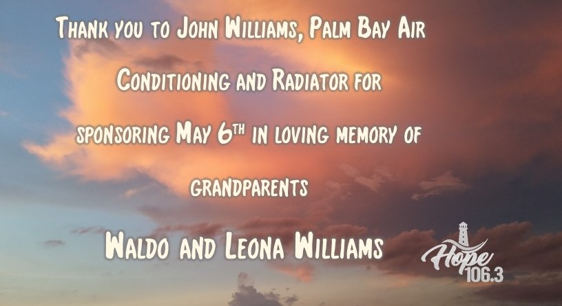 Remembering Waldo and Leona Williams!