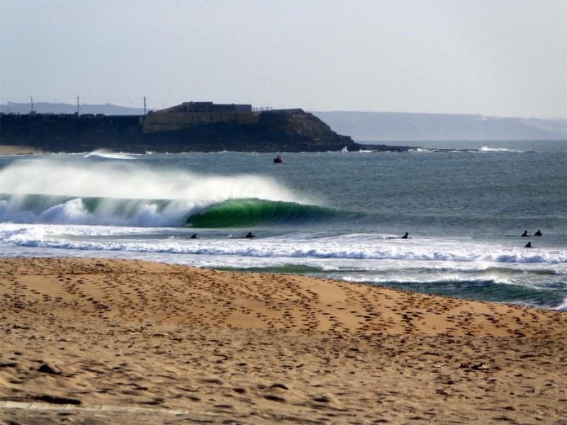 Picos do mundial de surf - moche - peniche
