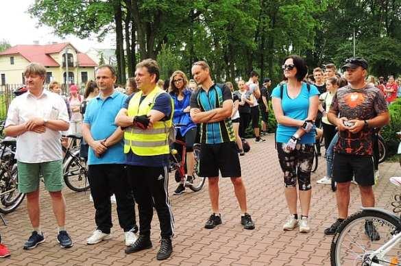 """ll Rajd Rowerowy im. bł. ks. Romana Sitki w Mielcu ,,Szlakiem pielęgnowana lasu""""[FOTO, VIDEO]"""