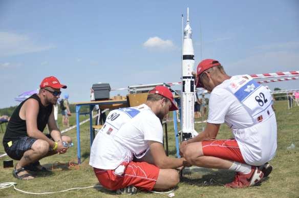 Mielczanie na Mistrzostwach Świata Modeli Kosmicznych [FOTO]