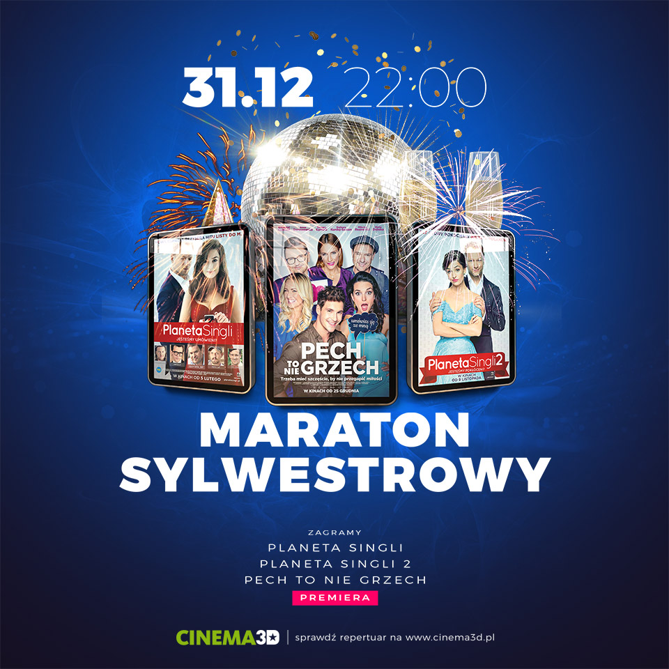 Maraton Sylwestrowy Cinema3D Mielec [VIDEO]