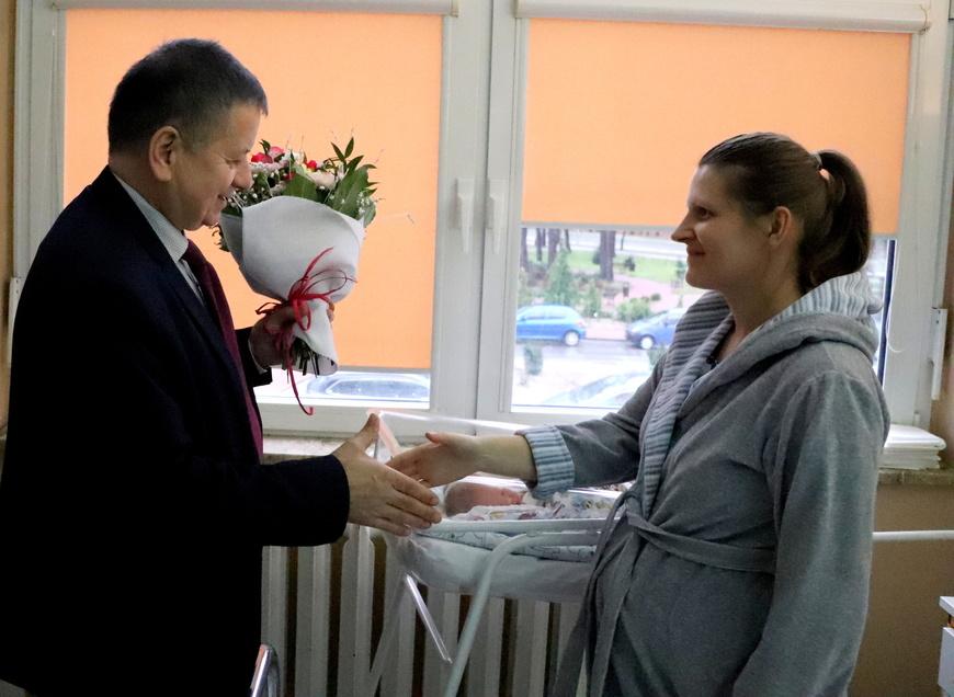 Pierwszy mieszkaniec Powiatu Mieleckiego urodzony w 2019 roku to mały Leon