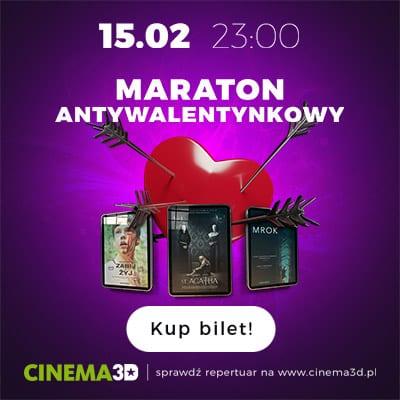 Maratony filmowe w kinie CINEMA3D w Galerii NAVIGATOR [VIDEO]