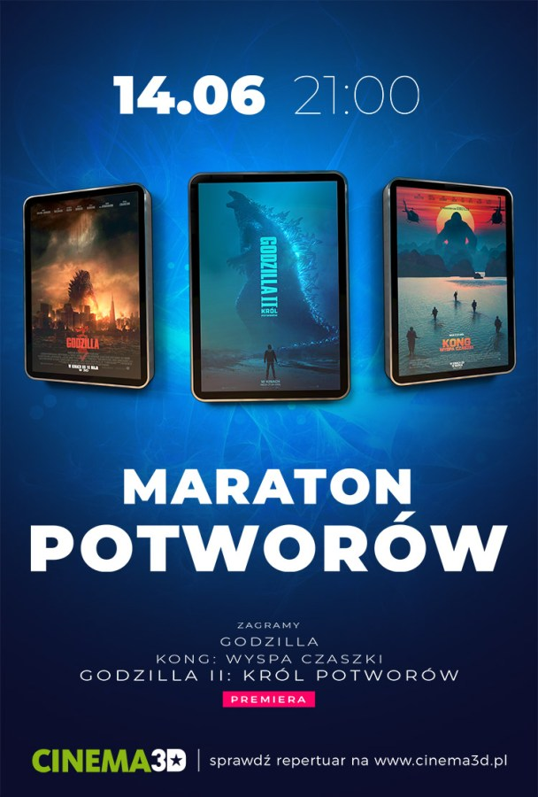 Maraton Potworów w Cinema3D [VIDEO]
