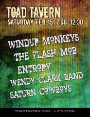 Wendy Clark Band at The Toad Tavern