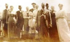 Commissioners, their wives and visitors on May 2