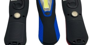 Infapower Cob Led Worklight 200 Lumens Batteries Included Various Colours
