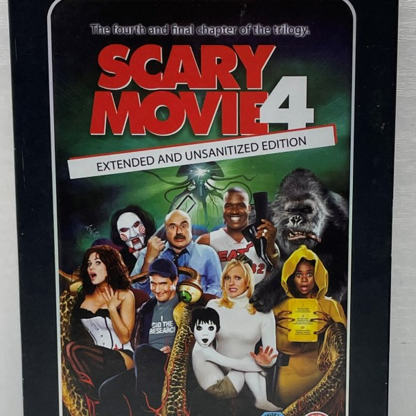 Scary Movie 4 Extended And Unsanitized Edition Cert (15) Used VG Condition