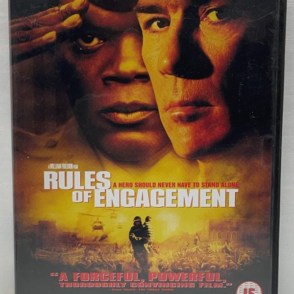 Rules Of Engagement Cert (15) Used VG Condition
